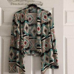 Sweater type jacket